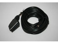 SVHS ja 3,5mm Stereo - Scart Kaapeli 5,0 metriä