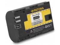 Patona LP-E6 1300mAh Akku EOS 6D 7D 60D 70D 5DMII(I)