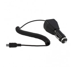 Autolaturi miniUSB 12V/24V Puhelimille, GPS:lle, PDA:lle ym.