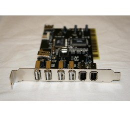 Firewire ja USB 2.0 Combo PCI Kortti