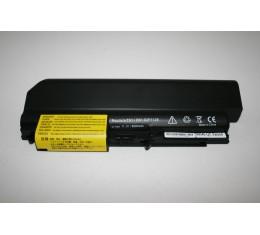 "Lenovo T61 R61 T400 14"" Wide Akku 6600mAh Tehoakku"
