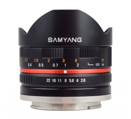 Samyang 8mm f/2.8 ED AS IF UMC *Kaikki Merkit APS-C*