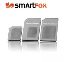 SIM Adapterisarja Kolmeosainen