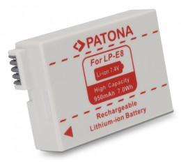 Canon LP-E8 Akku 550D - 700D 950mAh